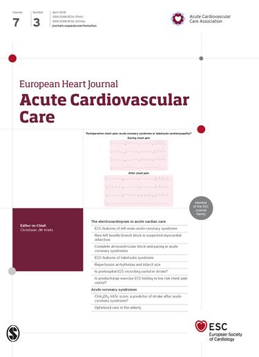 European Heart Journal - Acute Cardiovascular Care