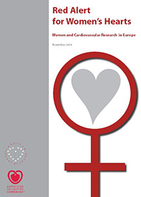 Cover Red Alert for women's hearts report
