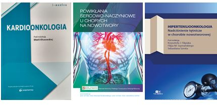 Three educational books on cardio-oncology published in Poland in 2017 and 2018.
