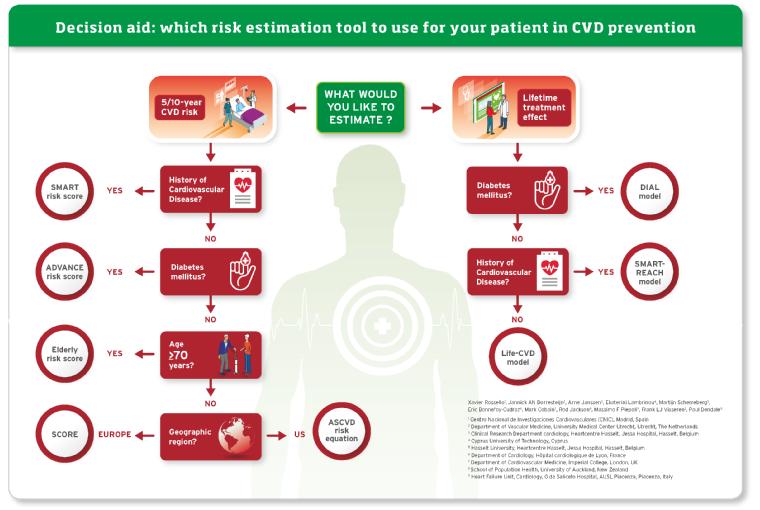 ESC Prevention of CVD Programme: Risk assessment