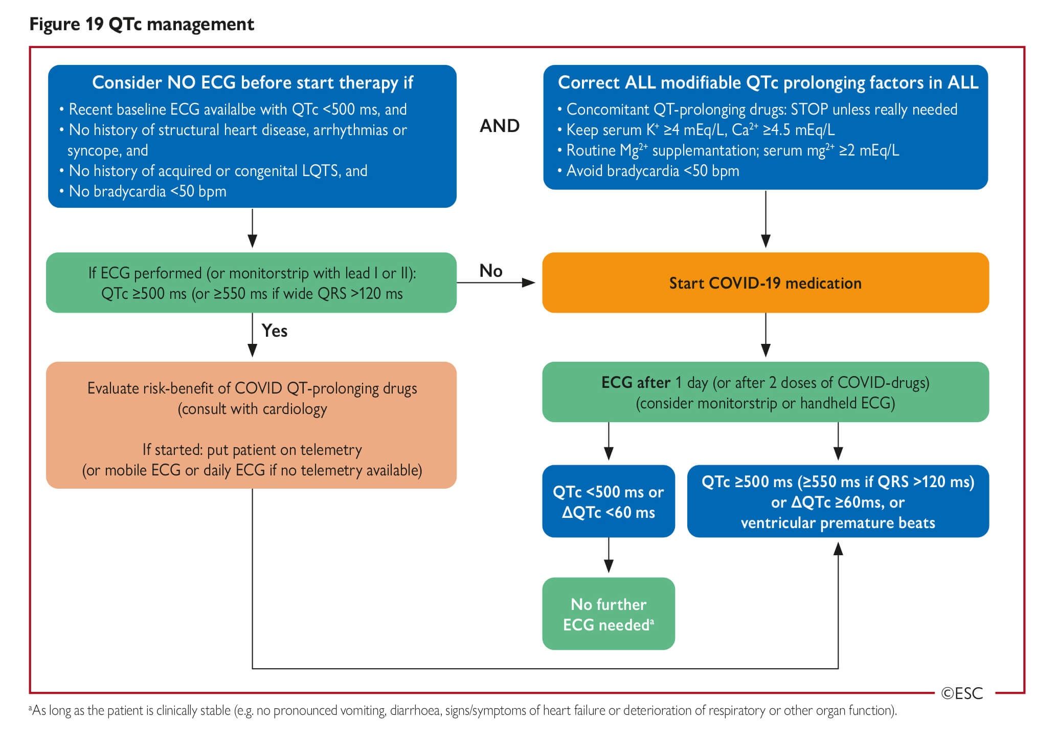 Esc Guidance For The Diagnosis And Management Of Cv Disease During The Covid 19 Pandemic